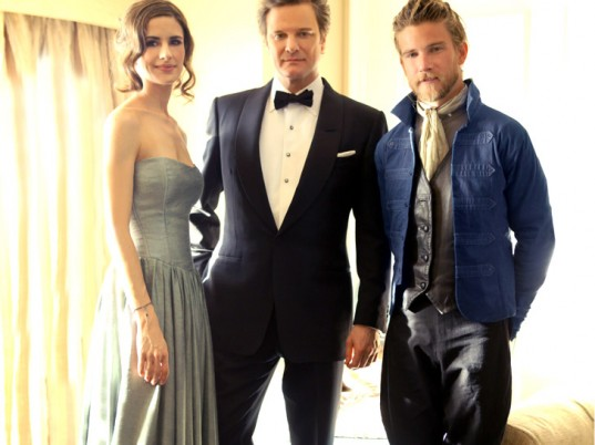 Livia Firth, Colin Firth, Prophetik, Jeff Garner, eco-fashion, sustainable fashion, green fashion, ethical fashion, sustainable style, Golden Globes, eco-celebrities, green celebrities